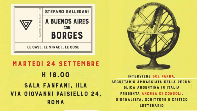 """Presentazione """"A Buenos Aires con Borges"""""""